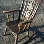 Rocking Chair, Antique / Farmhouse Style Oak Rocking Chair