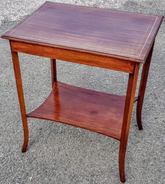 Antique Mahogany Side Table, Occasional Table, Lamp Table